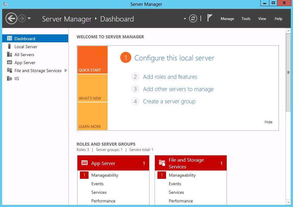 Windows Server Management
