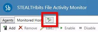 New Activity Search, STEALTHbits File Activity Monitor, File Activity Monitor