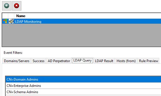 Active Directory Attacks, LDAP Query, Domain User Access, Domain User Management, StealthINTERCEPT