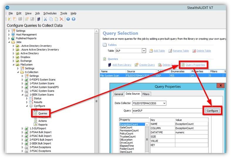 sensitive data, query data, query sensitive data, discover sensitive data