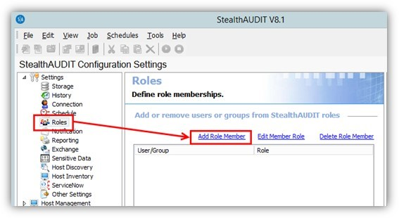 StealthAUDIT 8.1, StealthAUDIT, StealthAUDIT Reporting, Role Based Access, Role Based Access Reporting