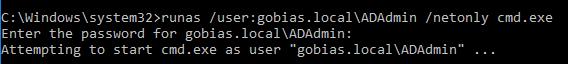 Runas, /netonly, HoneyHash, Pass-the-Hash, Honeypots, Active Directory Attacks