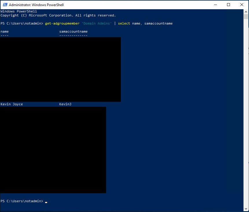 PowerShell AD Reconnaissance