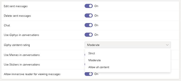 Messaging Controls
