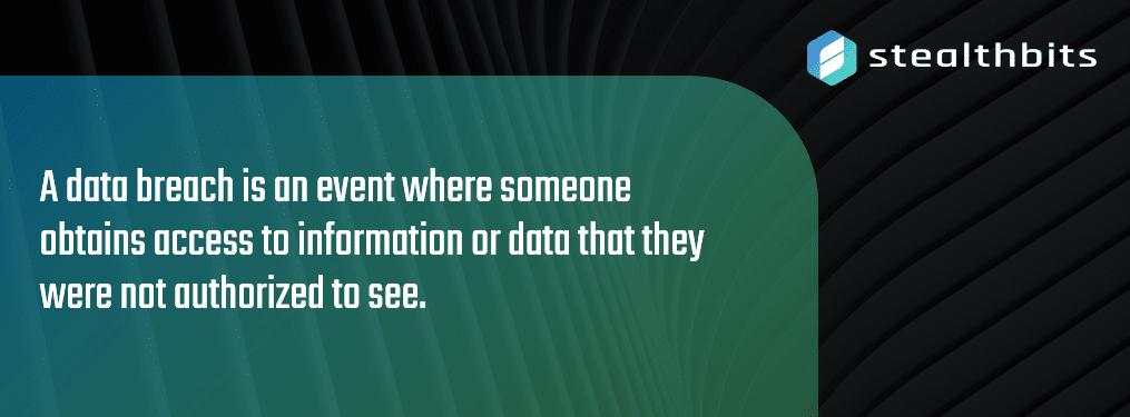 Data Breach Definition
