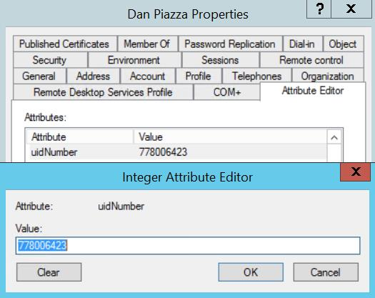 Group properties Attribute Editor Tab